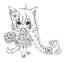 summer kitty...