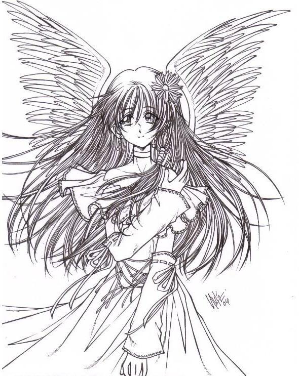 angel girl... request... by sureya