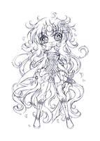 rose princess saja... sketch by sureya
