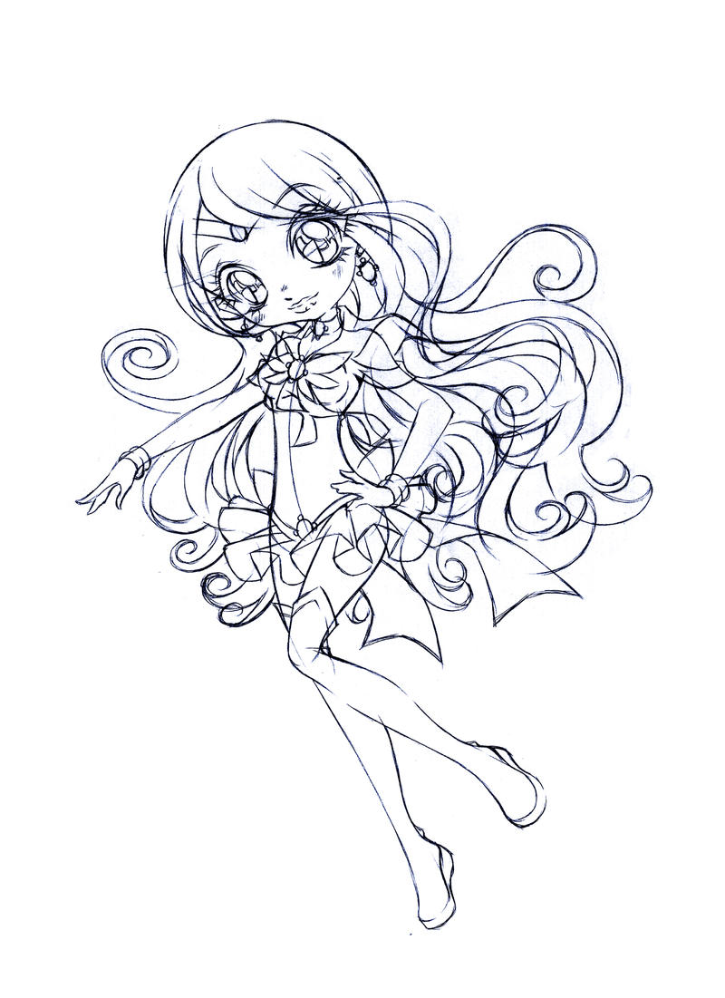 sailor aquila sketch by sureya on deviantart