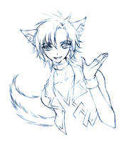fred... sketch by sureya