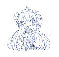 iris libra in loli... sketch by sureya