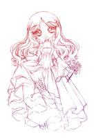 princess ivy rosa... sketch by sureya
