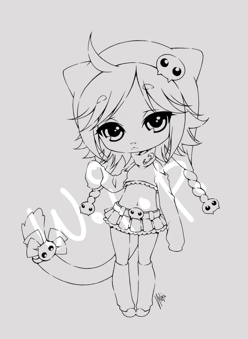 emo kitty... w.i.p by sureya