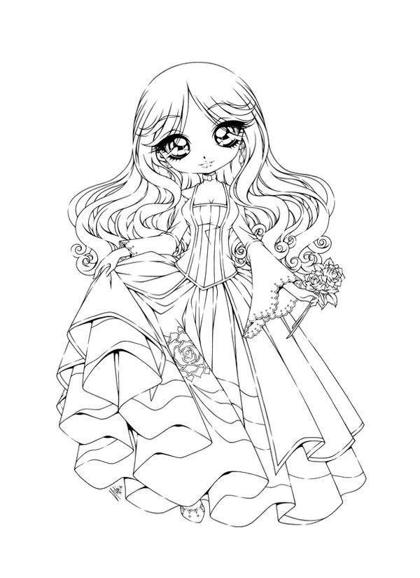 anime coloring pages deviantart art - photo#1