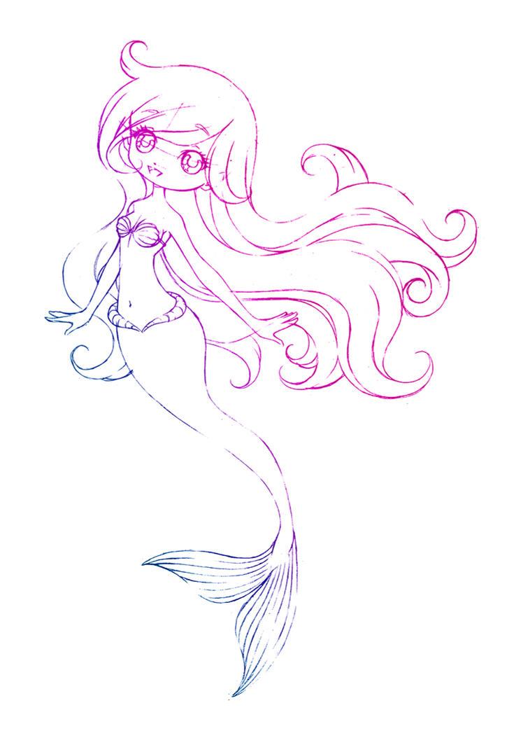 ariel... sketch by sureya