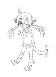 silly kitty... by sureya