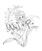 flower pixie... w.i.p by sureya