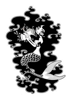 the red mermaid... ink
