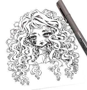 spider tattoo girl...