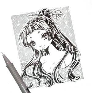 oriental girl...