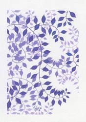 purple foliage...