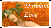 Mermaid Love Stamp by MadAsAHatter15