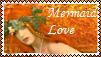 Mermaid Love Stamp by MadAsAHatter15