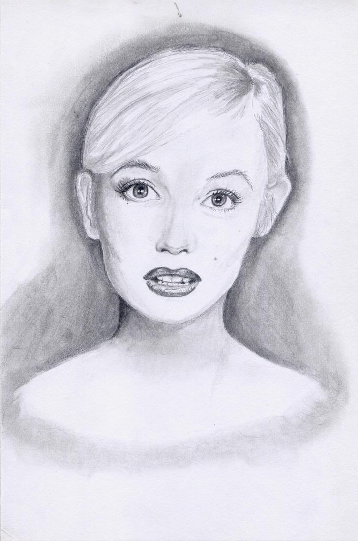 Marilyn Monroe by MadAsAHatter15