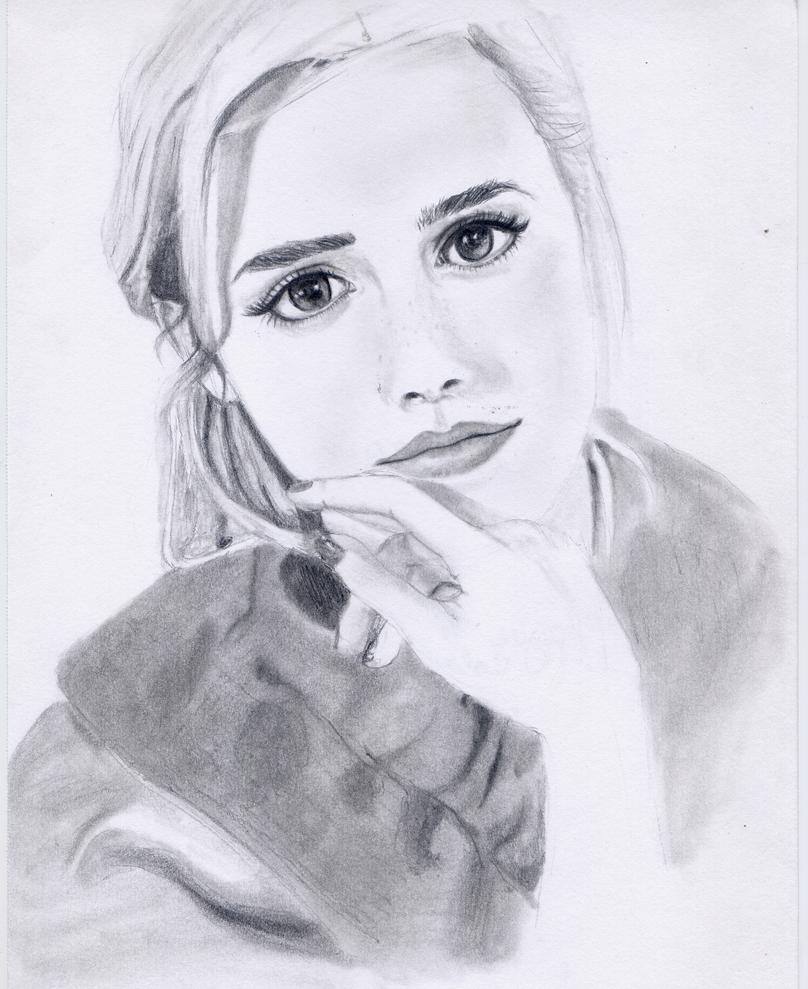 Emma Watson by MadAsAHatter15