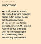Midday Shine! by Melanch0lic