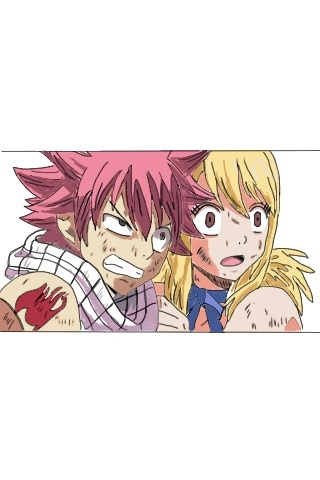 Natsu and Lucy :) by Khamby