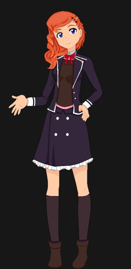 Akane Nakajima (School Uniform) by MrsAllenWalker500