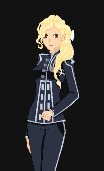 Elena (2nd Exorcist Uniform) by MrsAllenWalker500
