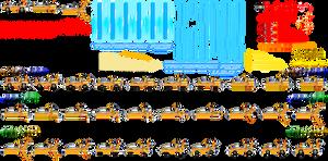 SaASRT: Tails's Vehicle Sprite Sheet