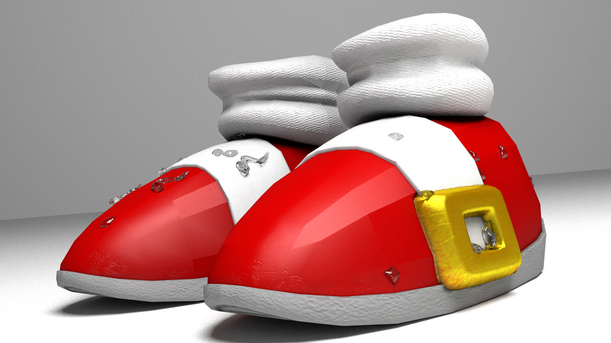 Sonic's Shoes (Comeback Render) by Nikko62