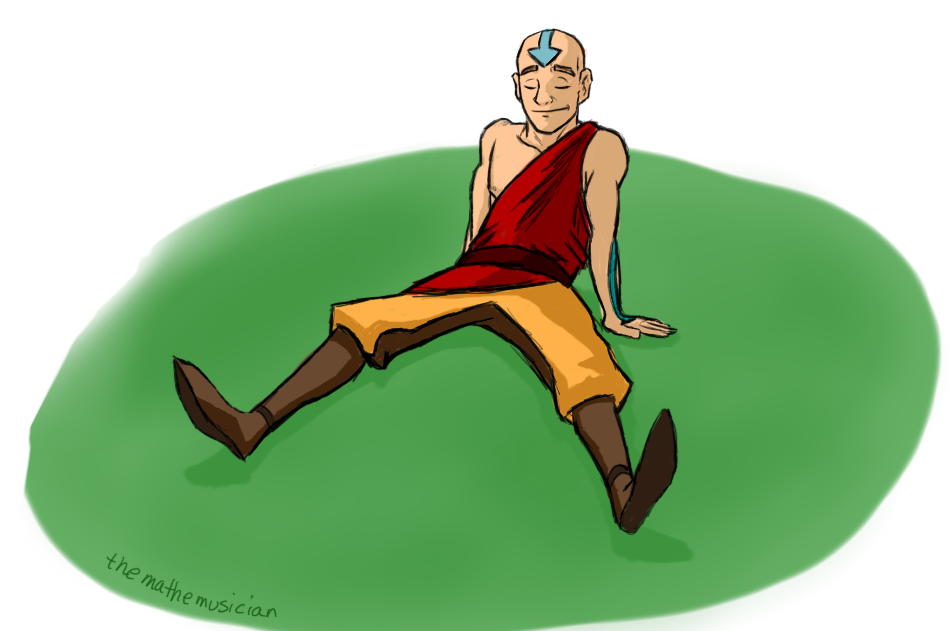Older Aang by themathemusician