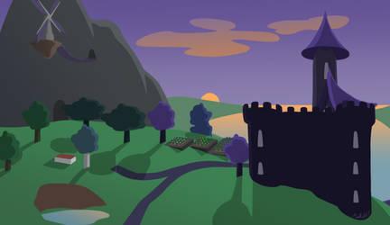 Fort Obsidian by Melleh17