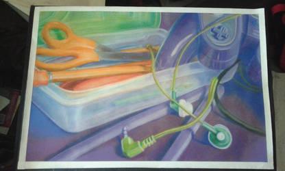 Pastel Still Life by Melleh17