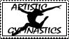 Artistic gymnastics stamp by Kleon01
