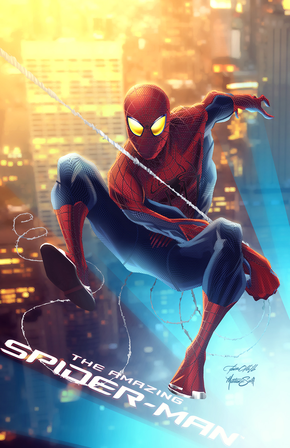 The Amazing Spider-Man by MatthewSwift