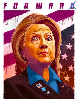 Hillary Clinton - Forward / For War