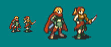 Female Assassin and Rogue