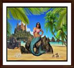 Salma Hayek mermaid