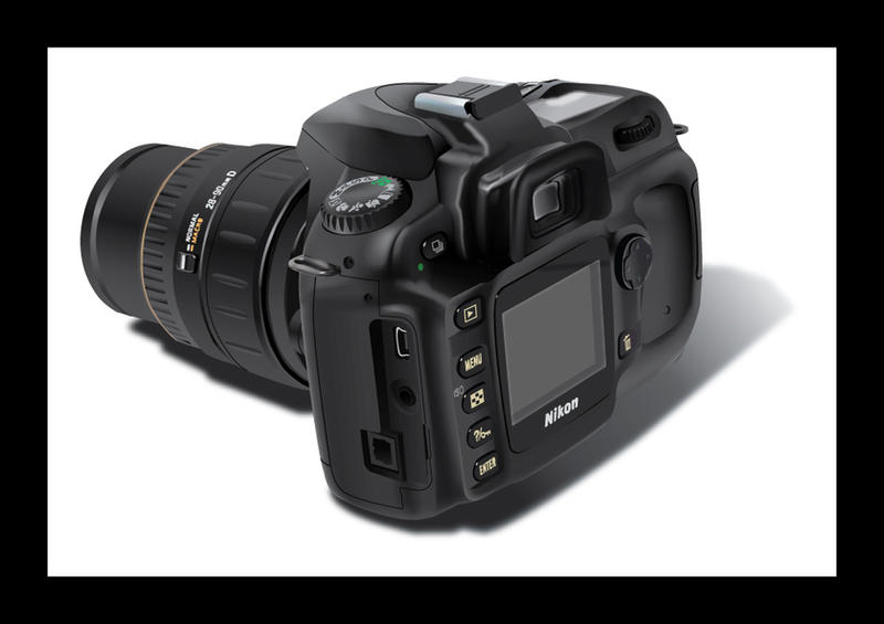 Nikon D50 view 1 by Zoomwafflez