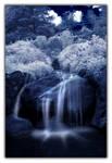 Waterfall Garden IR 2 by Zoomwafflez