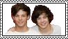 Louis Tomlinson and Harry Styles stamp by EpicTwizzy