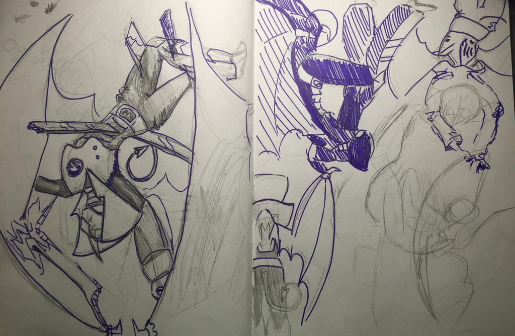 Shademan sketches by phoenixphire12