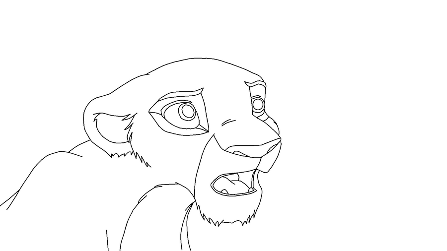 Lion King El Rey Leon 310225176 additionally Simba Cub Lineart 3 331358164 together with Simba Coloring Page likewise Kiara And Kovu besides How To Draw Zira Zira From The Lion King. on simba and nala drawings