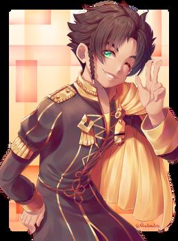 Claude von Riegan - Fire Emblem