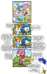 Sonic And Tails Discuss Amy's Four Names