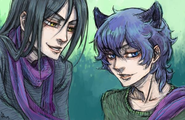 loveless - seimei and nisei. by MadH