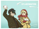 starfighter - snow battle.