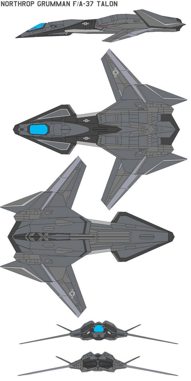 Fa 37 Talon Stealth Fighter By Bagera3005 On Deviantart
