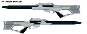Phaser rifles