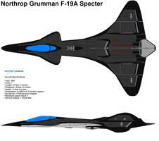 F-19A Specter Northrop Grumman by bagera3005