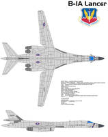 Boeing B-1A Lancer by bagera3005