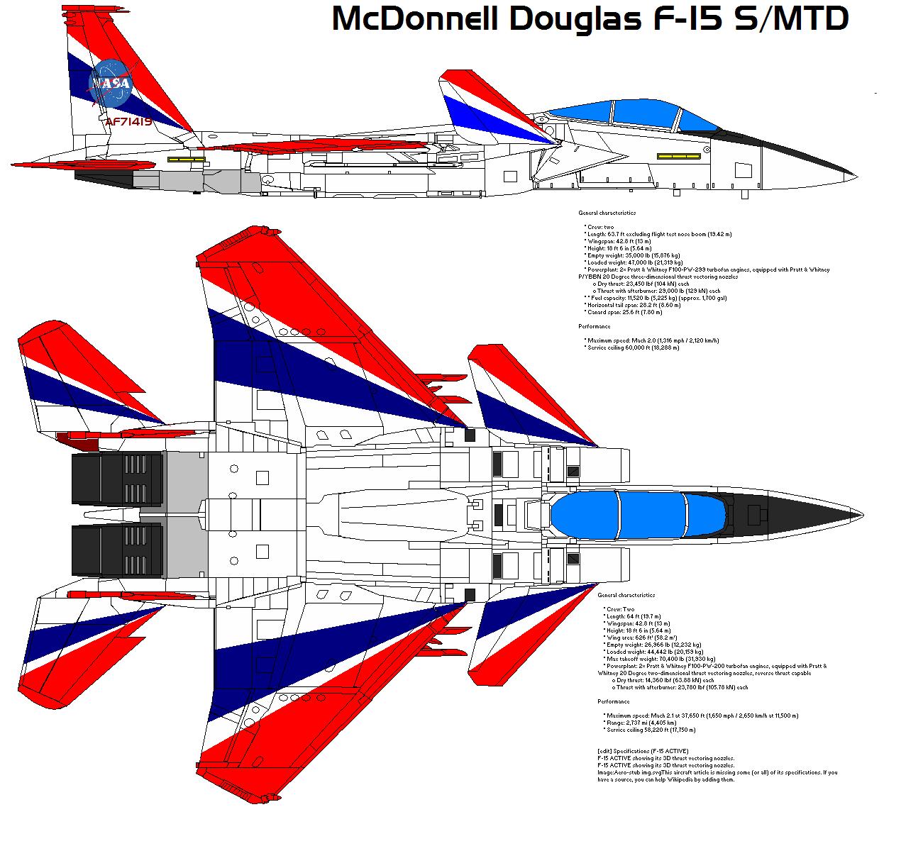 McDonnell Douglas F-15 S-MTD By Bagera3005 On DeviantArt