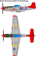P-51 by bagera3005