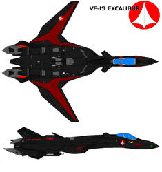 VF-19A black panther